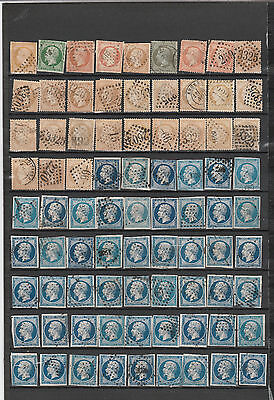 France 400 Old Stamps Lot# 1  Include 200 Xeres And  Napoleon