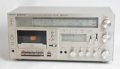 Sony Hst-49A Stereo Cassette Receiver / Amplifier