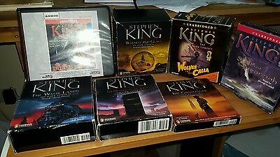 Stephen king Cd audio book  Dark Tower Series unabridged and complete