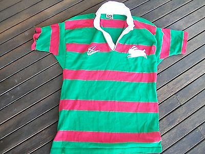 vintage nrl  footy jersey rugby league south sydney rabbits rabbitohs size xl