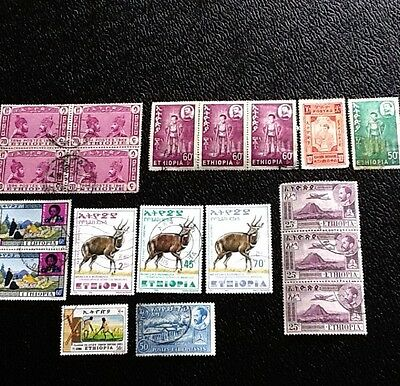 Ethiopia stamps Used