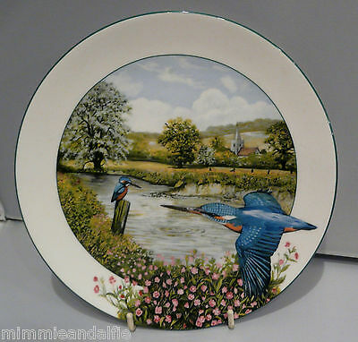 Birds Of The British Countryside ~ Collectors Plate - Riverside Kingfisher