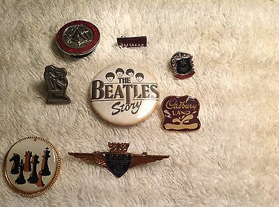 Vintage Badge Collection....