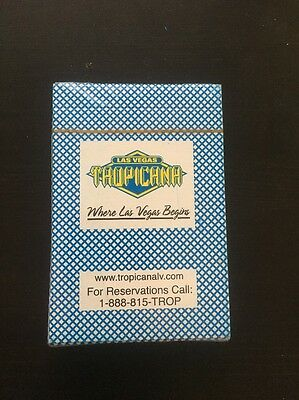 NEW VINTAGE Las Vegas Tropicana Casino Hotel Playing Cards  Sealed Unopened