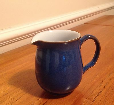 Denby imperial blue pottery stoneware SMALL MILK JUG