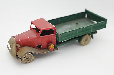 Tri-Ang Minic Tin Toy Truck Shell Petrol Vintage AntiqueToys Made In England