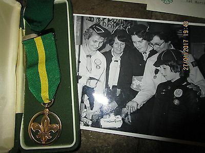 Scout Medal of Merit & Bar +Chief Scouts Long Service Decoration & Bar -Carslaw