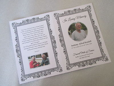 +Funeral+Stationery+Order' of' Service' &' Memorial' Cards'