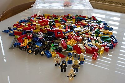 Lego bundle - assorted parts, collection of minifigures