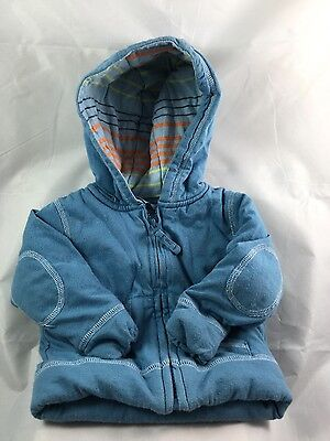 Baby boys john lewis baby thick warm jacket 6-9 months