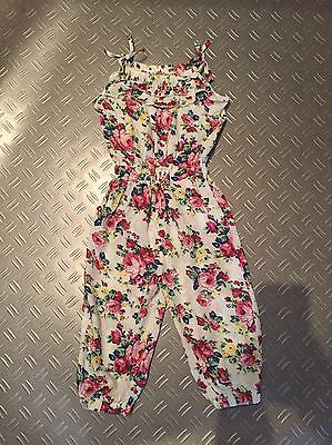 Cute girls playsuit / jumpsuit 3-4 Years - Immaculate Condition