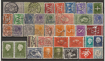 Netherlands. Mixture. Scan Of Used Stamps.