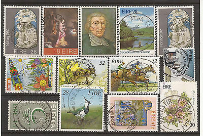 Ireland / Eire. Mixture. Scans Of Cds Used Stamps