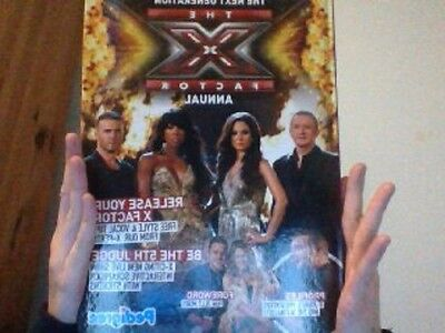 THE X FACTOR . 2011 ANNUAL  Exellent Condition