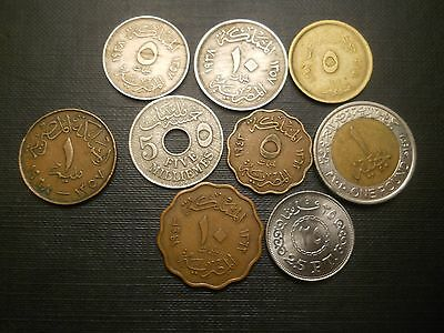 Egypt :Collection of coins