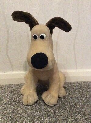 Wallace And Gromit - Gromit Soft Toy **FREE UK POSTAGE**