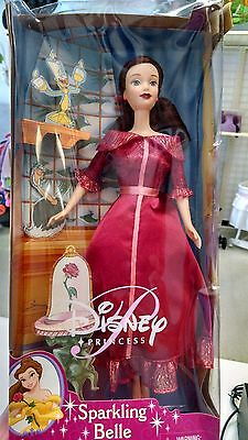 Disney Sparkling Belle Barbie, Beauty and the Beast, NIB