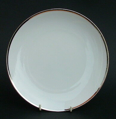 Thomas Medallion 4mm Wide Platinum Band 798 Salad or Dessert Plates 21cm in VGC