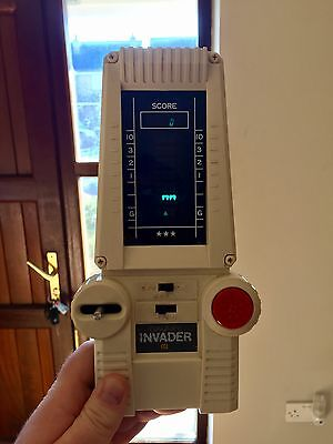 Vintage Galaxy Invader / Cgl Handheld Electronic Game