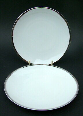 Thomas Medallion 4mm Wide Platinum Band 798 Side or Bread Size Plates 17.5cm Dia