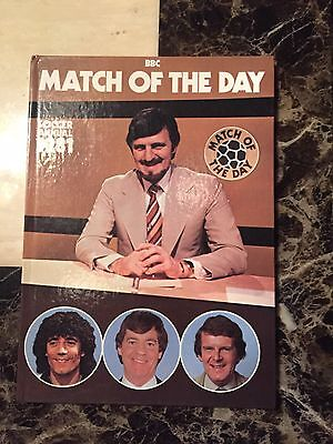 Match Of The Day Official Annual 1981