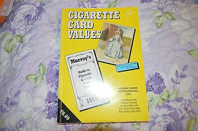 Cigarette Card Values 1996 - Murray Guide To Cigarette & Other Trade Cards