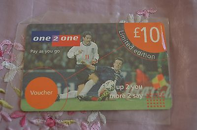 Collectable  Phonecard - One 2 One - Limited Edition