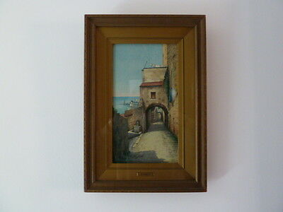 """Watercolor By """"b. Righetti""""  Signed"""