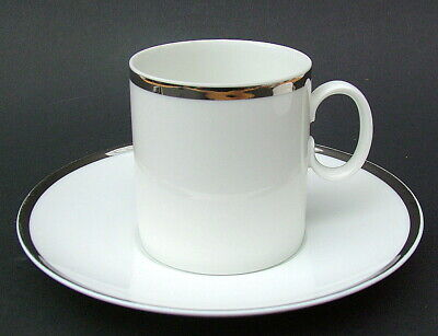 Thomas Medallion 4mm Wide Platinum Band 798 Tea Cups & Saucers - Look in VGC