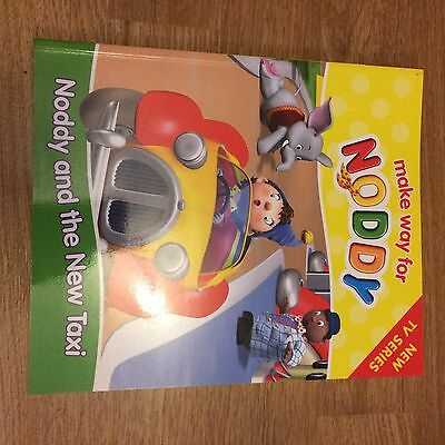 Noddy Book Brand New - Noddy And The New Taxi