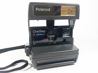 POLAROID Instant Camera One Step Close Up 600 Film USED