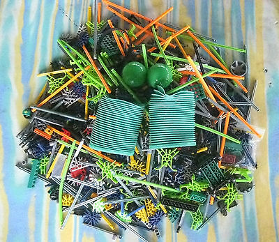 K'Nex Knex Kit - In A Big Value Tub - Loopin Lizard Pieces* Over 2 Kilo**