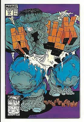 INCREDIBLE HULK # 345 (52 PAGES, TOD McFARLANE ART, JUL 1988), VF/NM