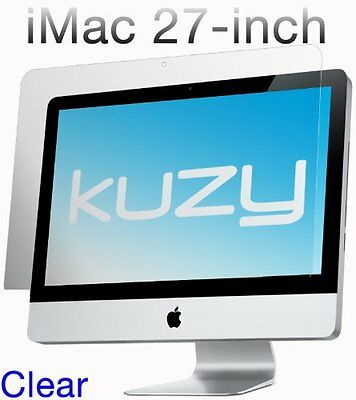 "Kuzy - Clear Screen Protector Filter for 27 inch iMac Desktop Display 27"" Model:"