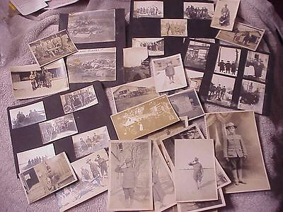 Original Lot Of Us Wwi Photos From Estate