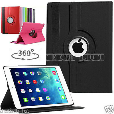 Apple iPad 2 3 4 iPad Mini 1 2 3 4 iPad Air 5 Air2 6 Leather Rotate Case Cover