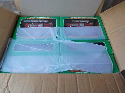 1999 hess MINIATURE FIRE TRUCKS NEW IN CASE OF 24 Pcs just 3.00 ea birthday toys