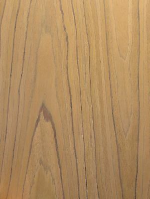 """Teak composite wood veneer sheet 24"""" x 48"""" with paper backer 1/40th"""" thick (EFW)"""