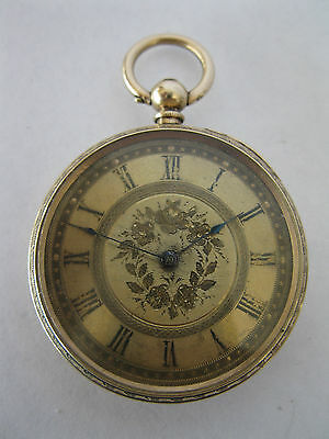 Solid gold Waltham pocket watch made in 1886