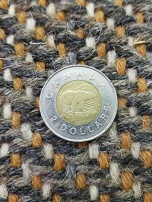 Canada 2 dollars 1996  bi-metallic coin Bear