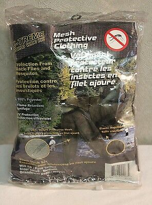 NEW Mesh Protective Clothing Child/Youth Mosquito Blackfly Green Mesh Set