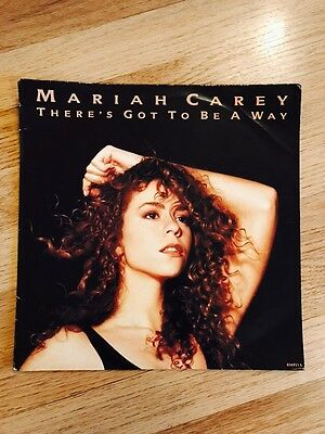 Mariah Carey - There's Got To Be A Way 12 Inch Record Rare 1991