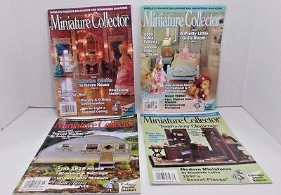 Miniature Collector Dollhouse Magazines Little Girls Room