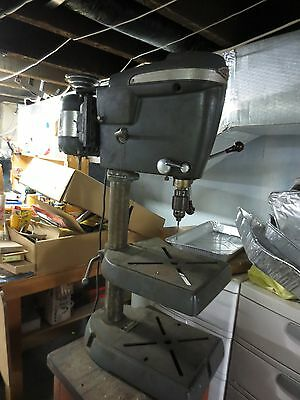 1950's Sears and Roebuck Craftsman King Seeley Drill Press Model #103.24810