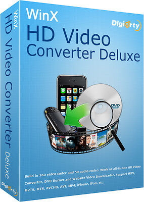 WinX HD Video Converter Deluxe / Online Downloader Latest 2017 Official Download