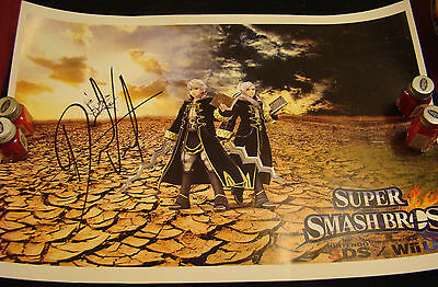 Robin - Fire Emblem & Super Smash Bros. - David Vincent signed - 12 x 18 poster