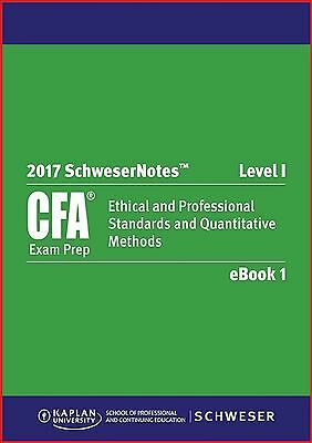 2017 Wiley Study Guide For Level 1 Cfa Exam
