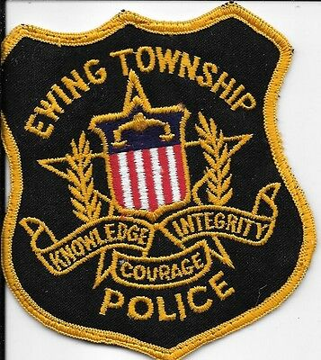 Ewing Township New Jersey Nj Police Dept Epd Pd Star Sheild Courage