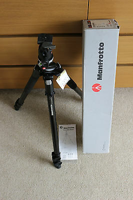 Manfrotto 055XPROB Tripod with 496RC2 ball head in superb condition
