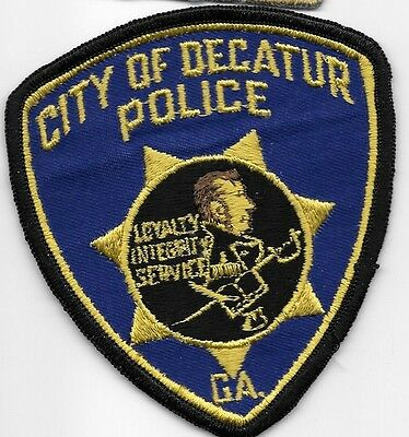 DECATUR GA DPD PD Named after Stephen Decatur a 19th century U.S Naval hero